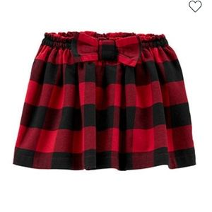 Carters Bufflo Plaid Skirt with lining